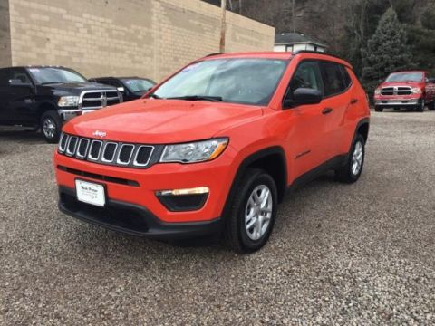 Pre-Owned 2017 Jeep Compass Sport 4x4